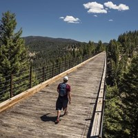 The Great American Rail-Trail Experience: Connections to Our National Scenic and Historic Trails