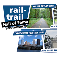 Meet the 2020 Rail-Trail Hall of Fame Nominees