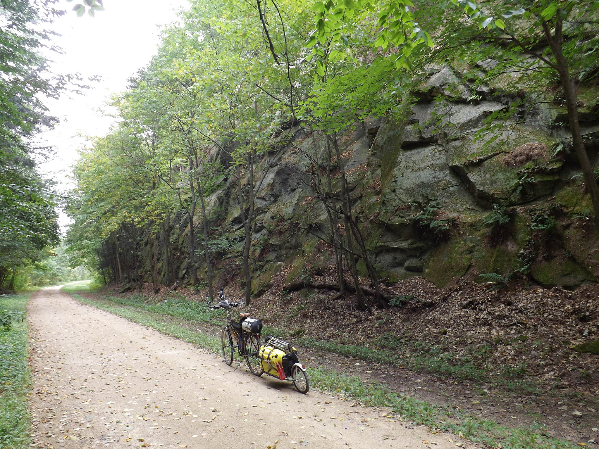 400 State Trail Railroad Cut North of La Valle