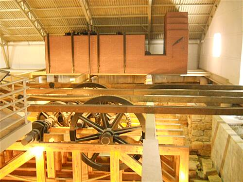 6 to 10 Trail System Inside the engine house All the gears and pullies of the inclined plane