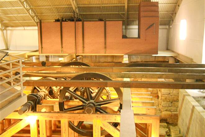 6 to 10 Trail Inside the engine house All the gears and pullies of the inclined plane