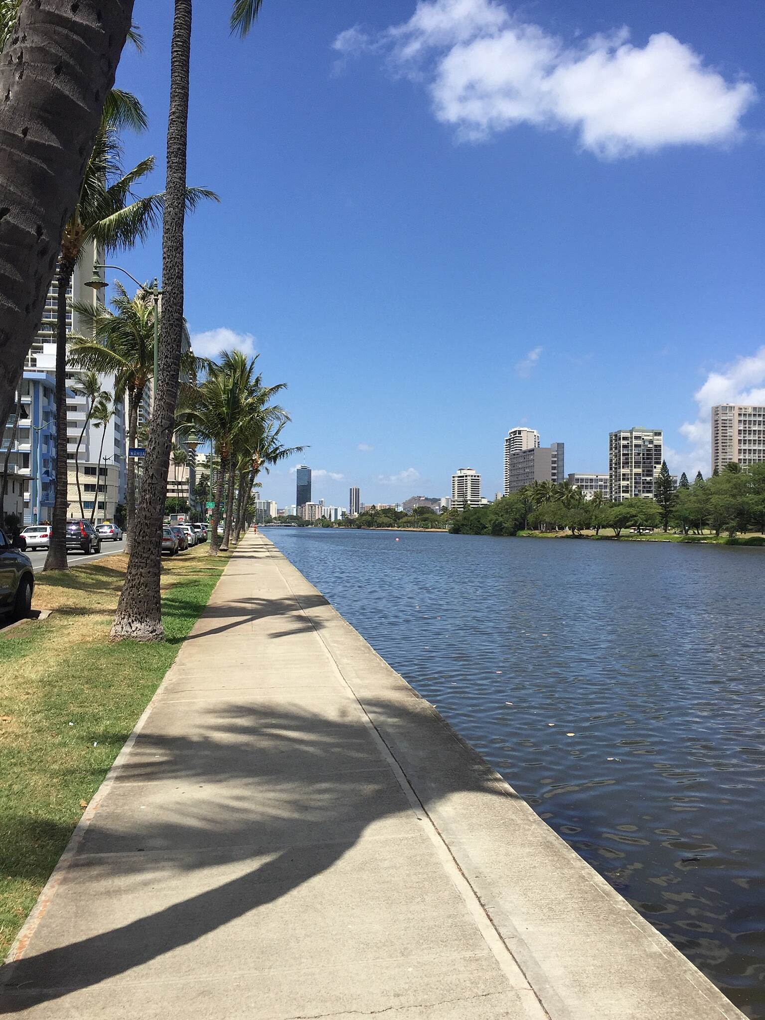 Ala Wai Canal Promenade Ala Wai Canal Promenade Photo Courtesy of Lyla Dang