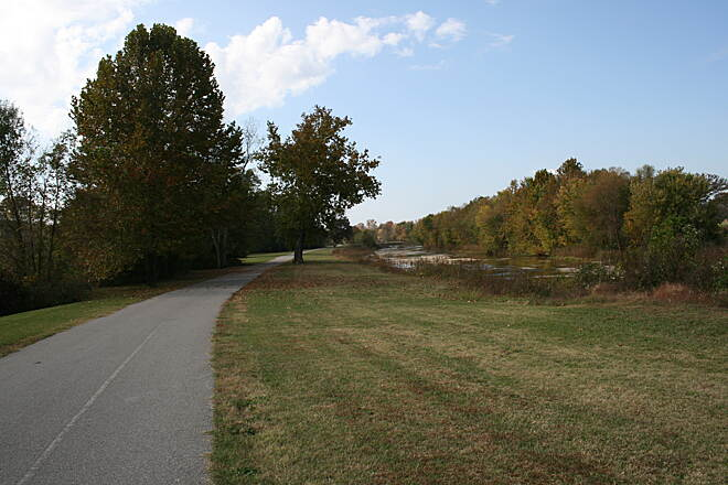Aldridge Creek Greenway Aldridge Creek Greenway The greenway in October