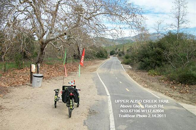 Aliso Creek Riding and Hiking Trail UPPER ALISO CREEK TRAIL Just above Glenn Ranch Rd.