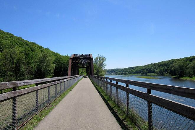 Allegheny River Trail Trail Bridge May-2015 Trail Bridge