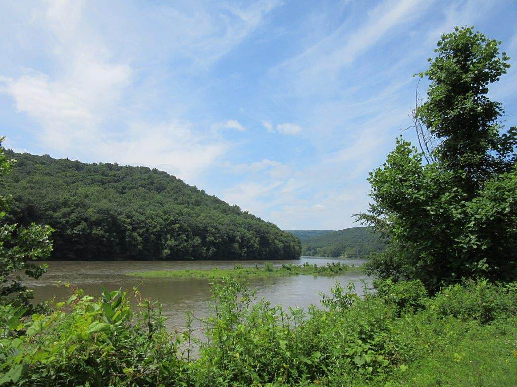 Allegheny River Trail Allegheny River-July 2015 Very high Allegheny River due to all the rain, July 2015