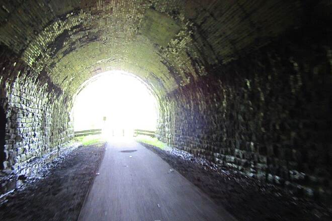 Allegheny River Trail Kennerdell Tunnel Kennerdell Tunne-July 2015