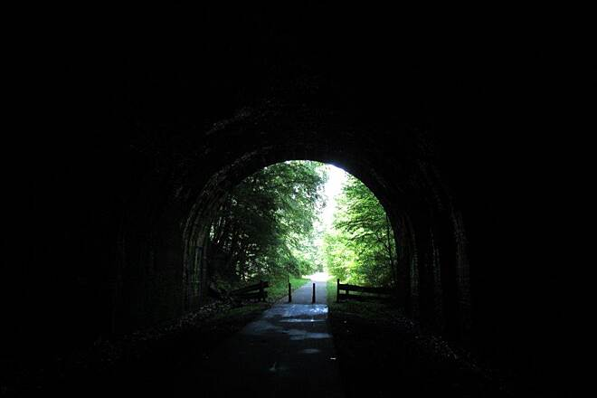 Allegheny River Trail Rockland Tunnel July 2015, Rockland Tunnel