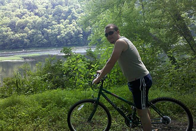 Allegheny River Trail Beautiful Summer Day