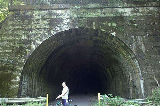 Allegheny River Trail Tunnel