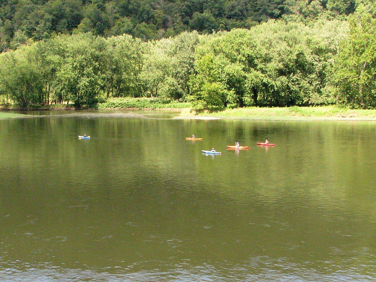 Allegheny River Trail Allegheny River fun in the water!
