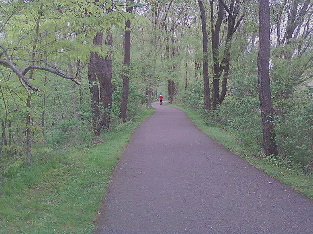 Allegheny River Valley Trail Alleghany River Trail Runners, walkers, bikers,oh my! Great ride, take a couple loops both ways for 20+ miles!