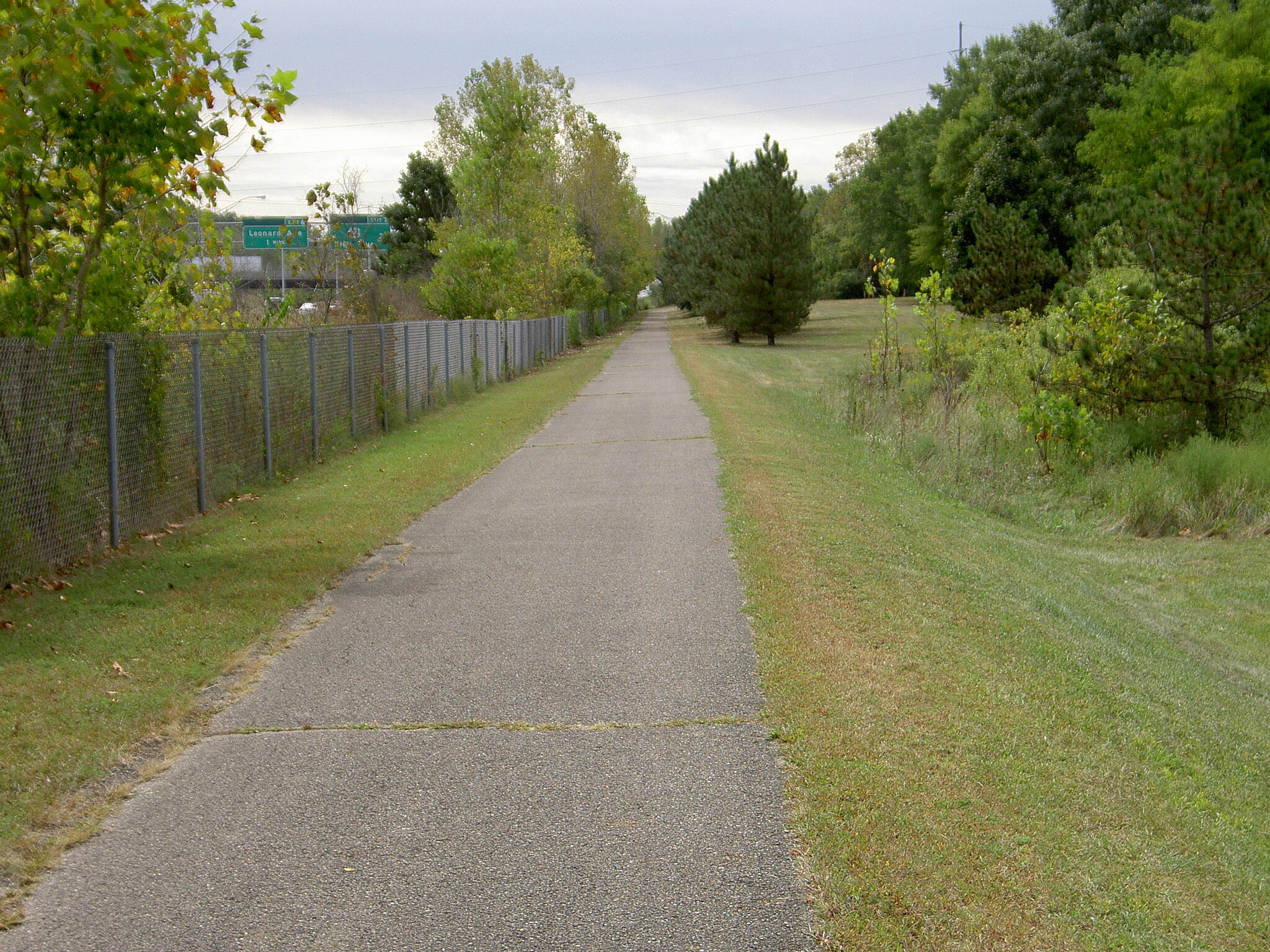 Alum Creek Greenway Trail Along I-670 (South)