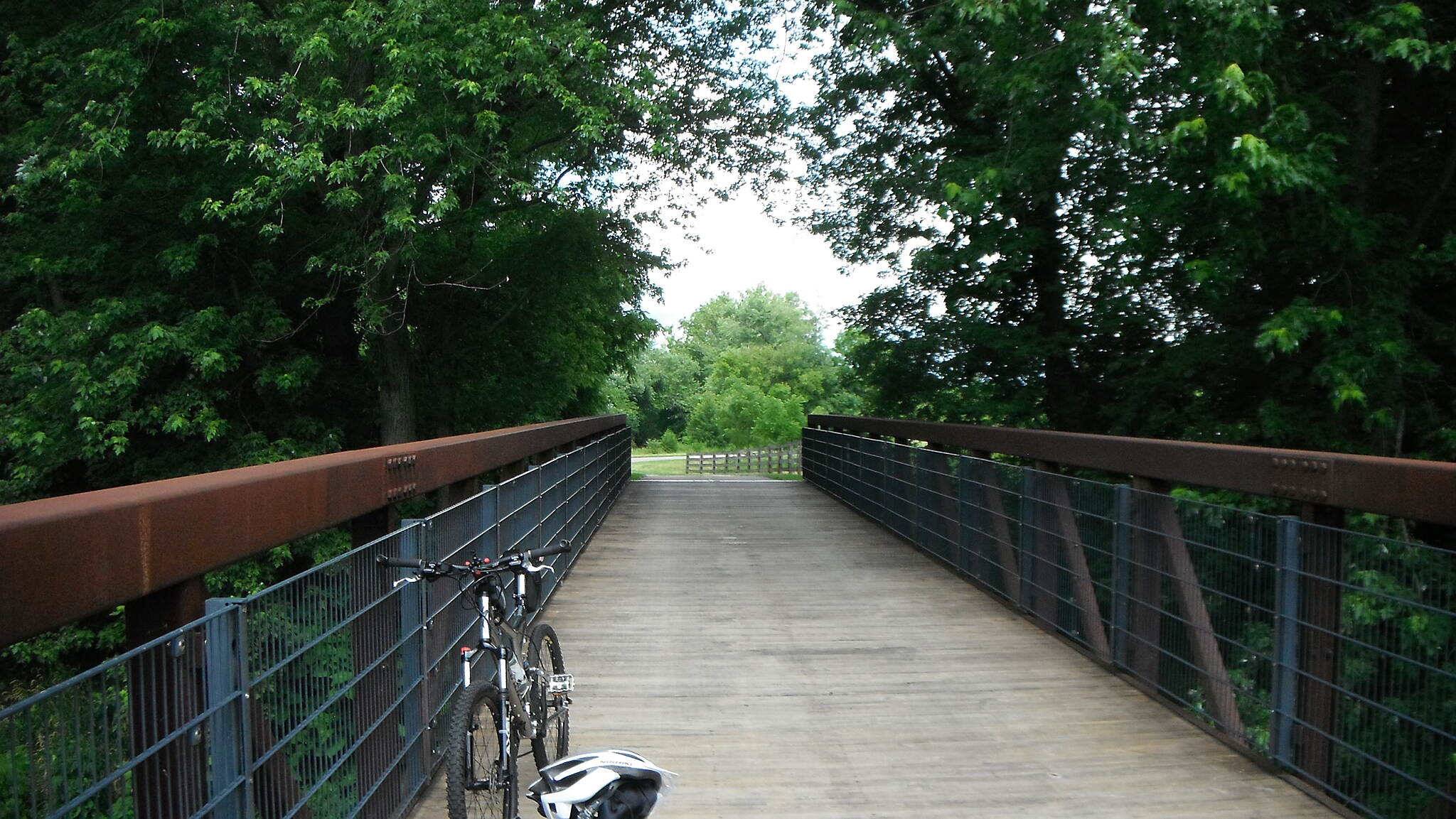 Alum Creek Greenway Trail Northbound toward Columbus