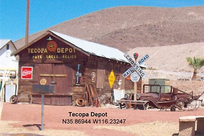 Amargosa River Trail Amargosa River Trail Tecopa Depot located two miles North in Tecopa Hot Springs.