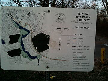 Amesbury Riverwalk Amesbury Riverwalk Trail Map