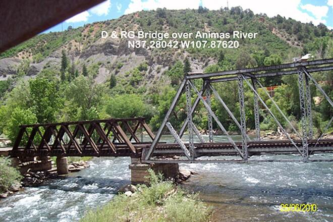 Animas River Trail Animas River Trail Durango to Silverton Narrow Gauge RR Bridge