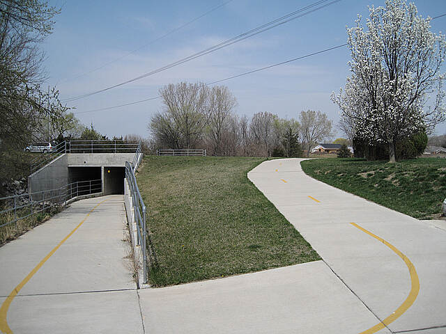 Antelope Creek Trail Antelope Creek Trail Image provided by Jerry Wilkins