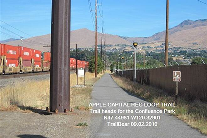 Apple Capital Recreation Loop Trail APPLE CAPITAL RECREATION LOOP TRAIL Along the RR tracks at the Confluence Park