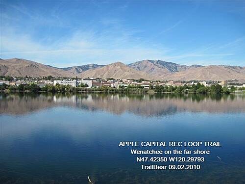 Apple Capital Recreation Loop Trail APPLE CAPITAL RECREATION LOOP TRAIL Wenatchee - over yonder