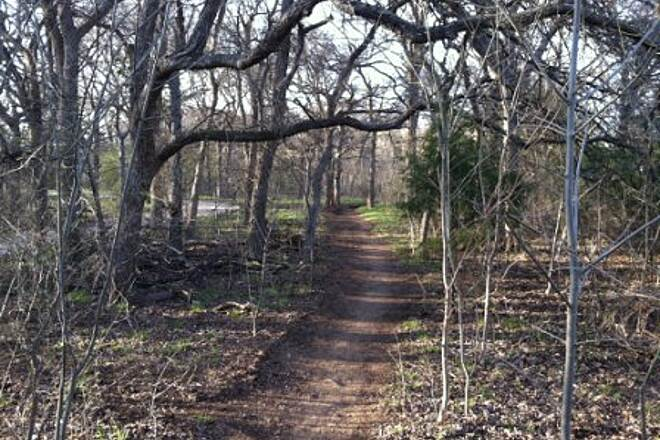 Arbor Hills Trail Outer Loop Trail 3/20/14 Spring is coming