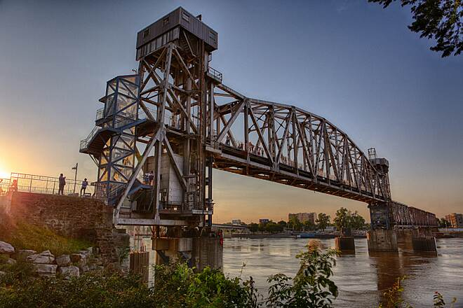 Arkansas River Trail Junction Bridge Photo by Scott Stark