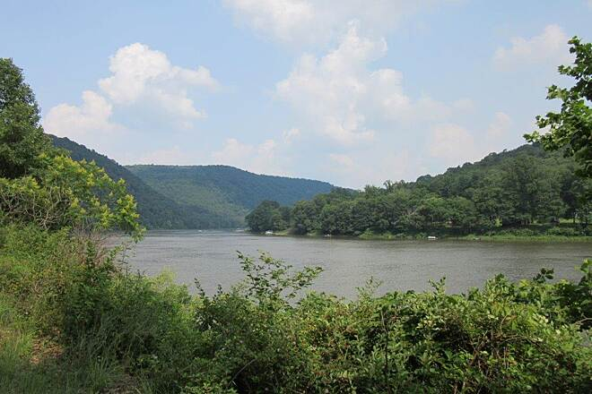 Armstrong Trail Allegheny River Allegheny RIver-July 2015