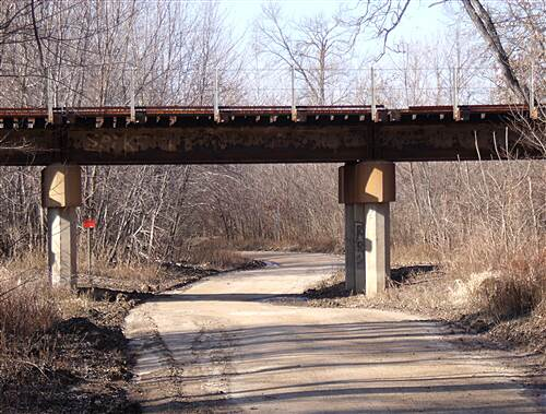 Arnold City Park Trail  Rails Over Trail