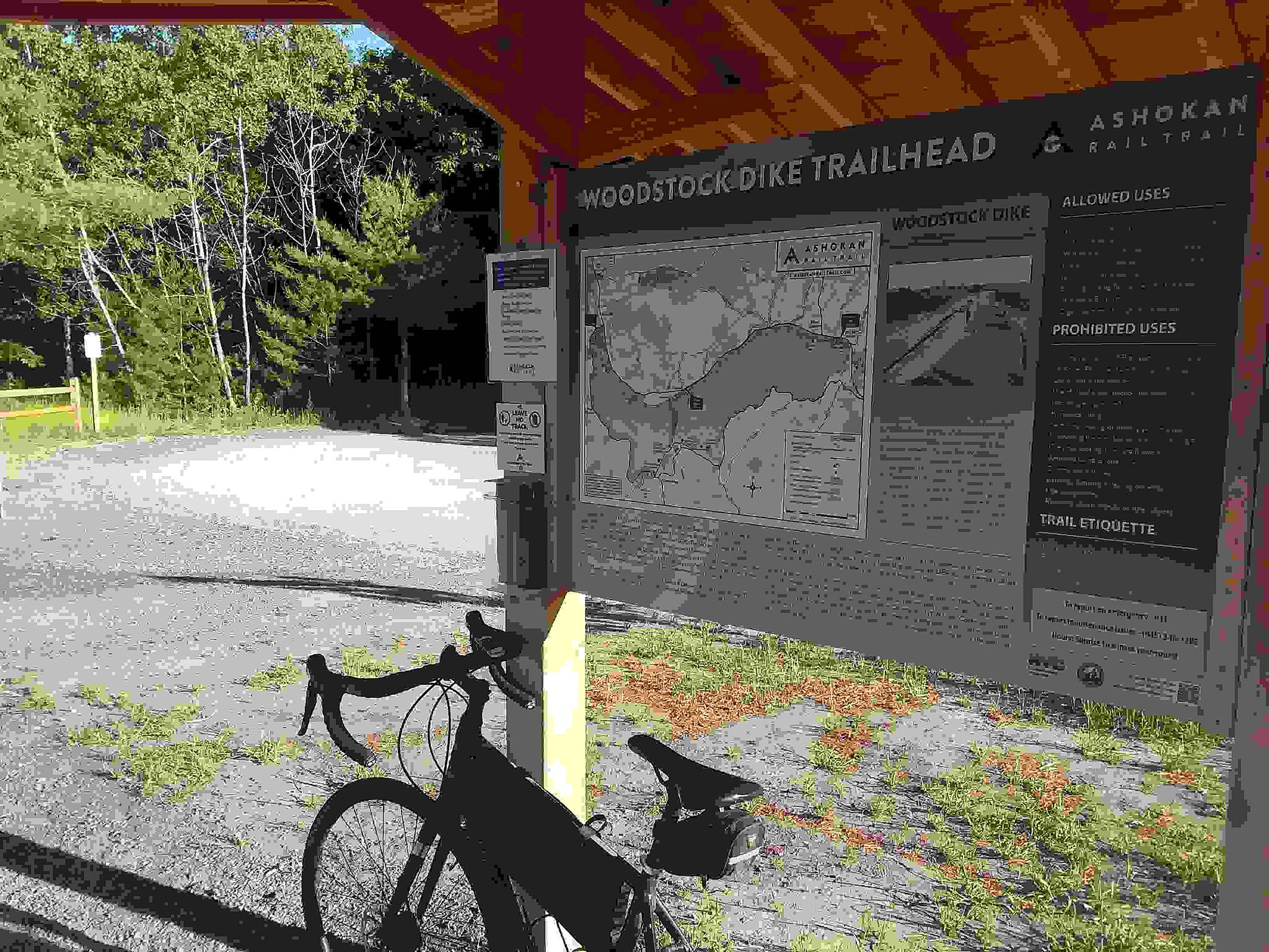 Ashokan Rail Trail West Hurley Trailhead