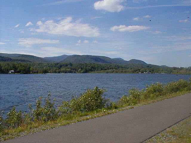 Ashuwillticook Rail Trail Nice Trail A beautiful view along the trail!