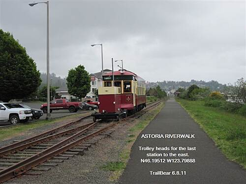 Astoria Riverwalk ASTORIA RIVERWALK You will enjoy the trolley ride.  $1