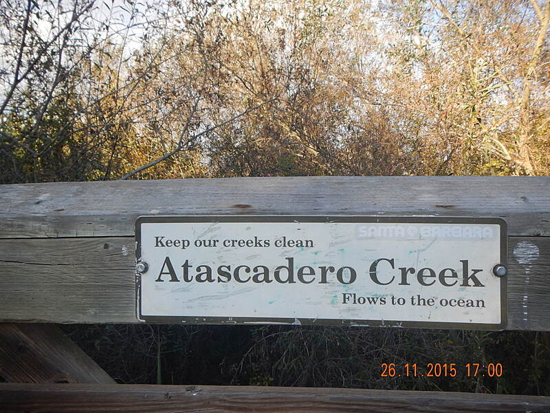 Atascadero Creek Trail (Obern Trail) Atascadero Creek