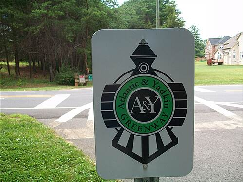 Atlantic & Yadkin Greenway natures best signs