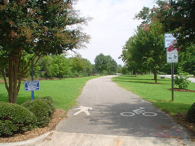 Atwood Linear Park Atwood terminus Photo courtesy Huntsville Parks and Recreation Department