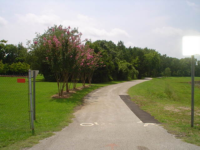 Atwood Linear Park Atwood trailhead Photo courtesy Huntsville Parks and Recreation Department