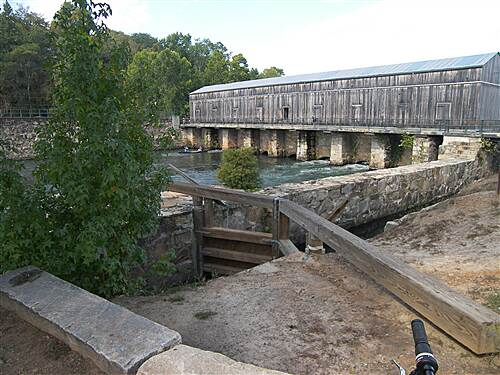 Augusta Canal Trail Augusta Canal 9-27-08 Headgates at the top of the canal