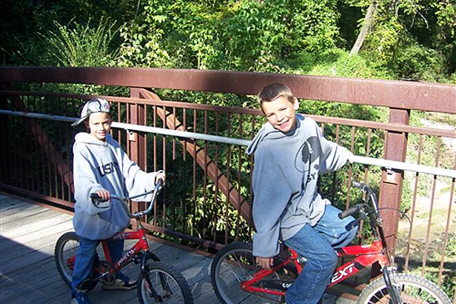 Avon and Catawba Creeks Greenway October 1, 2011 Austin and Tyler on the Greenway