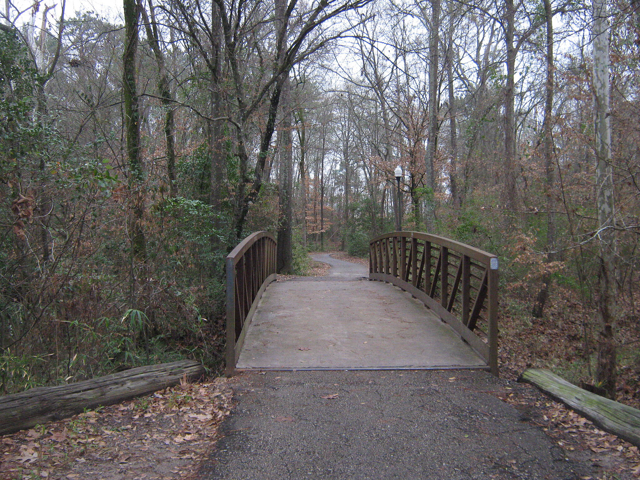Azalea Trail Azalea Trail - Lufkin The Bridge over a small creek.
