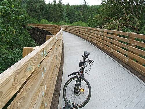 Banks-Vernonia State Trail Buxton Trestle Open for business