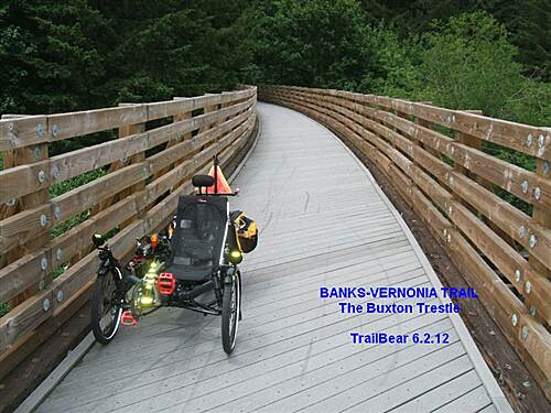 Banks-Vernonia State Trail BANKS-VERNONIA TRAIL On the Buxton Trestle