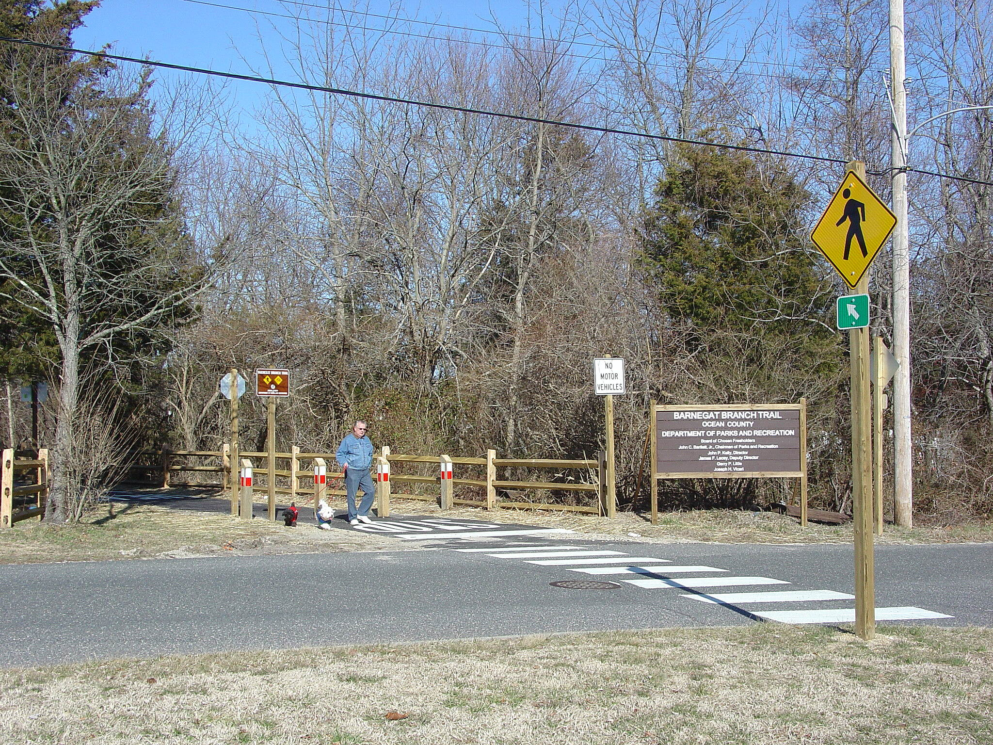 Barnegat Branch Trail Begin Trail users begin at Burr street with parking heading north only
