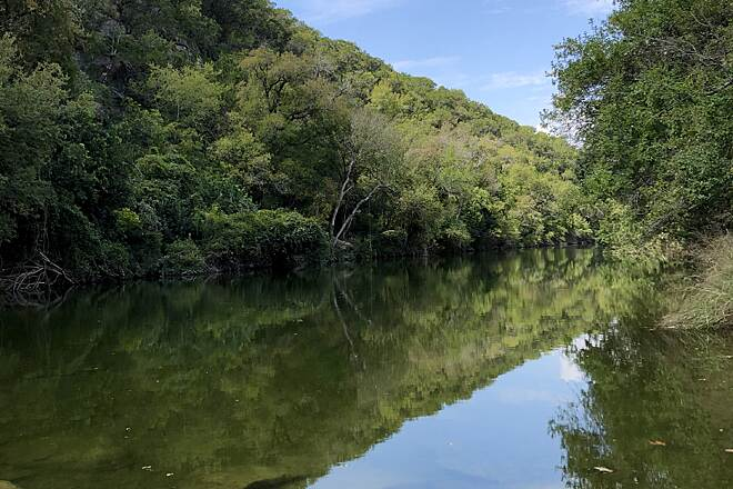 Barton Creek Greenbelt Barton creek