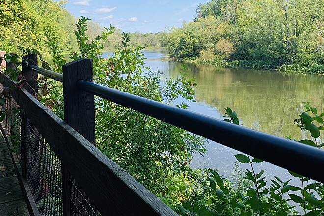 Battle Creek Linear Park Battle Creek Linear Park The river