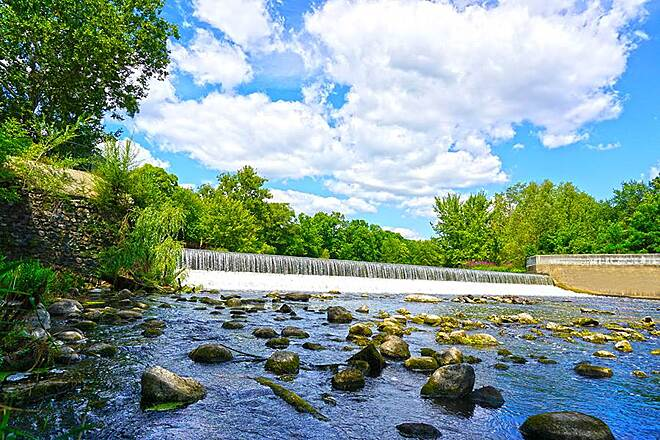 Battle Creek Linear Park Verona Dam Along Wagner Drive & Emmett Street
