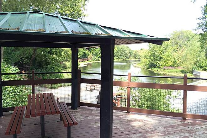 Battle Creek Linear Park Picnic Areas along Wagner Dr