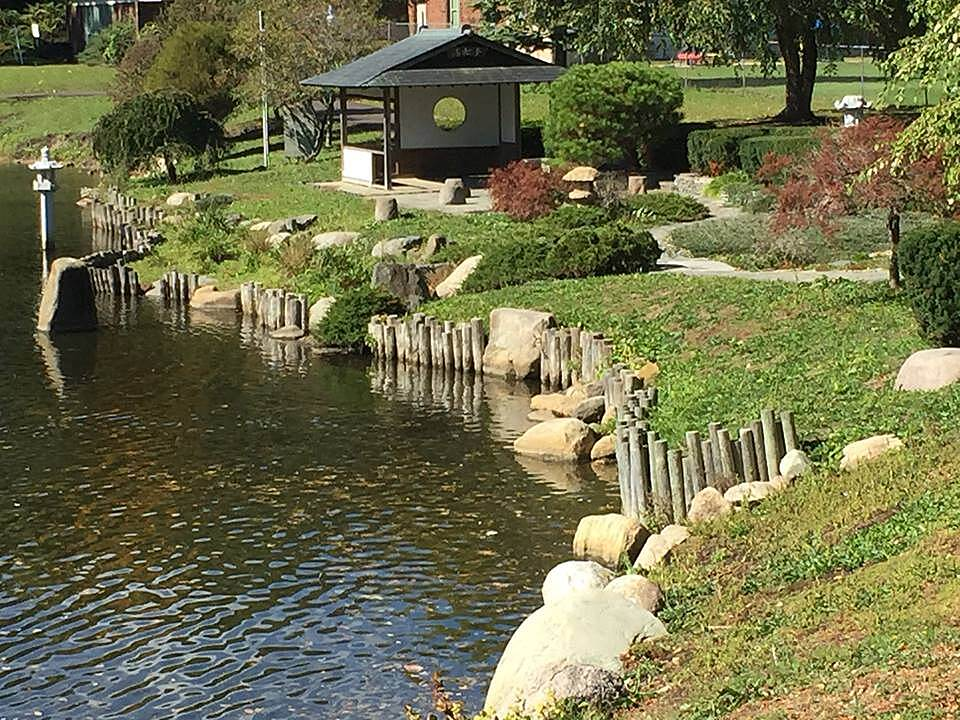 Battle Creek Linear Park Japanese Tea Garden Corner of North Avenue and Emmett Street. Beautiful place to relax