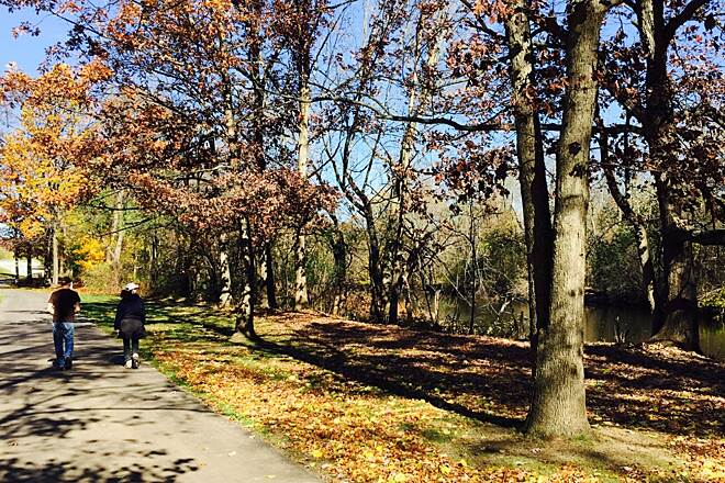 Battle Creek Linear Park Fall Colors