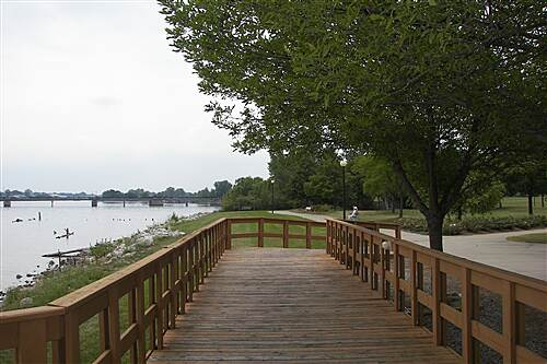Bay County Riverwalk/Railtrail System