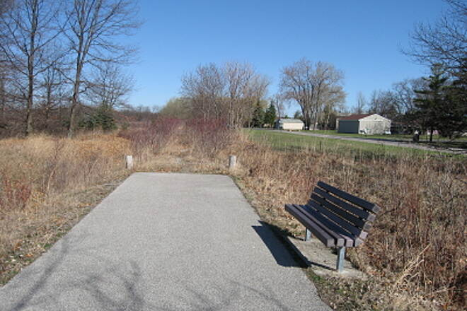 Bay County Riverwalk/Railtrail System Andersen Nature Trail At the north end of the trail