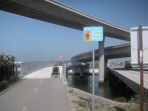 Bayshore Bikeway   Gordy Shields Bridge over Sweetwater River
